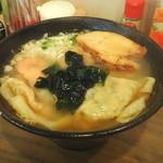 雲呑房 麺家 - 五色雲呑麺