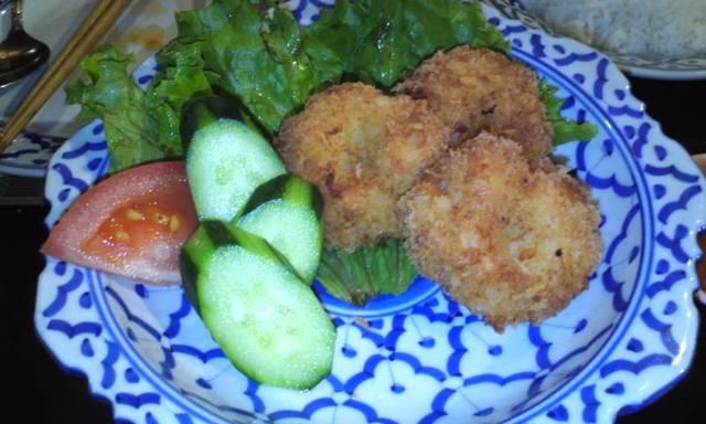 タイ料理レストラン Tha Chang 柏 本店 - 海老すり身のパン粉揚げ♪