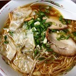珍竹林 - 再訪ワンタン麺大盛り1000円+150円