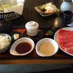 29033113 - しゃぶしゃぶ昼膳(100g)