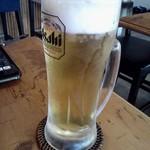 タイ呑み トレンディ - クーポンでもらったビール