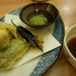 阿波水産 - 鱧梅肉天ぷら