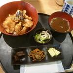 Yahiromarunishikikou - 魚介天丼ランチ