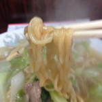 29038876 - そぼろ皿うどん(太めん)・1,100円