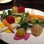 29039950 - 旬の新鮮生野菜盛り合わせ
