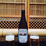 鰻割烹 伊豆栄 梅川亭 - 瓶ビール