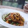 アロマテラス - 料理写真:自家製野菜たっぷりのパスタ