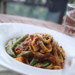 アロマテラス - 自家製野菜たっぷりのパスタ