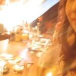 牛たん堂島精肉店 - こちらのお店のランチだけをおお手づだいされている美人店員さん*2次会の席の写真ですが。。。(笑)