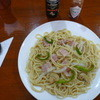 クロサワ - 料理写真:ベーコンと野菜のスパゲッティ