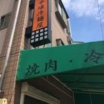 元祖 平壌冷麺屋 - 長田郵便局の西にあります