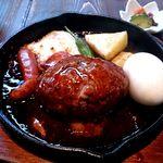 つきじ川食堂ひさ野 - ハンバーグ