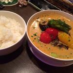 29050712 - 初訪問 スープカレー+白ご飯