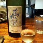 エクスキ - 日本酒のグラスが可愛い