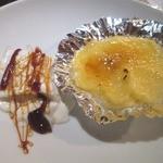 ふじバル - デザートのクリームブリュレ