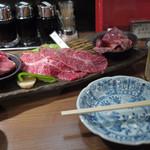 ヒレ肉の宝山 - 赤身盛り合わせ~☆