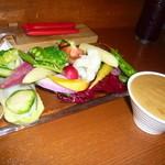 29057042 - 生野菜スティック バーニャカウダソース