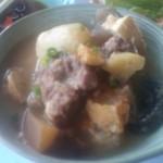 ひかり食Do - イノシシ肉の煮込み