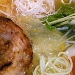 AFURI - 冷たいスープにジュレ♡細麺に合うー((o(^∇^)o))