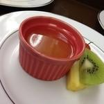 とんかつ懐石 こざくら - 柑橘系のジュレ