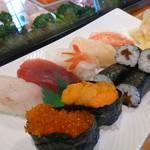 亀や - 料理写真:上寿司