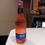 ビッグエコー - ドリンク写真:ZIMA Red