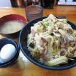 伝説のすた丼屋 - すた丼(メシ増し)¥730 ※税込価格