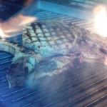 カフェ&バーカロ イル ニード - 信州黒豚のLボーンステーキ!