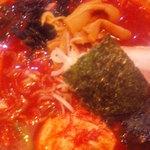 一見家 - ラージャン麺(激辛,アップ)