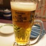 じねん - スタートはもちろん生ビール♪