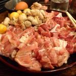 吉鳥 花園店 - 大和肉鶏の鍋