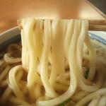 麺や 吉村 - 麺、この時点で感触が硬いなと思いました。