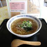ビューロー - 料理写真:塩ラーメン(420円)