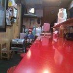 軽中華 香龍 - '09・12・15 店内カウンター