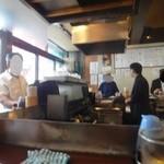 七津屋 - コの字のカウンター席