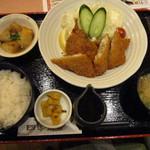 四季菜々 - 日替りミックスフライ定食@800円