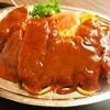 十三 大富士 - 料理写真:①ポークチャップ定食