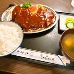 十三 大富士 - ①ポークチャップ定食