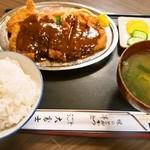 十三 大富士 - ②とんかつ(A)定食