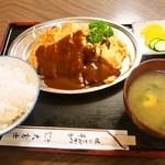 十三 大富士 - ③ドンヂクセリ定食