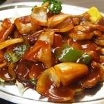 十三 大富士 - ⑤ポークシチュウ定食