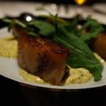 29072770 - 国産豚バラ肉のコンフィ グリビッシュソース添え