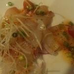 ロティサリーイン - 鮮魚のカルパッチョ