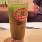 29075255 - やっこ名物「青汁ハイ」…。これが結構いける~!癖になってしまうこの味わい。身体にもよいのだ。
