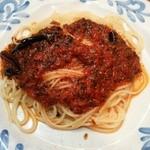 29075676 - 唐辛子とにんにくトマトのスパゲティ(アラビアータ)