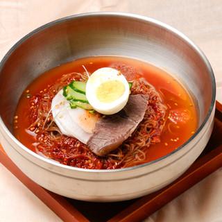 スンチャン特製冷麺♪