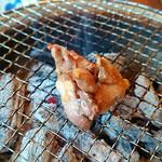 居心 - 地鶏焼き中~
