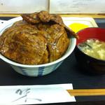 ぶた福 - ミックス豚丼(880円)