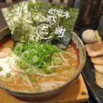 麺彩ぎんや  - 海老味噌ラーメン