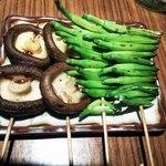 29079660 - しいたけ&金針菜(ユリの蕾)